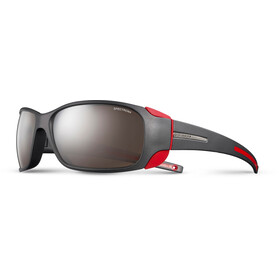 Julbo Montebianco Spectron 4 Sunglasses Matt Black/Red-Brown Flash Silver